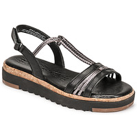 Chaussures Femme Sandales et Nu-pieds Tamaris BENNA Noir