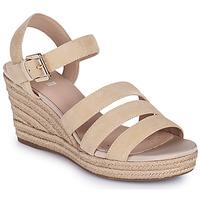 Chaussures Femme Sandales et Nu-pieds Geox D SOLEIL C Beige