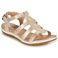 Chaussures Femme Sandales et Nu-pieds Geox D SANDAL VEGA A Doré