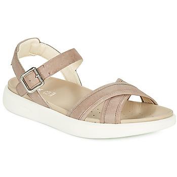 Chaussures Femme Sandales et Nu-pieds Geox D XAND 2S B Beige