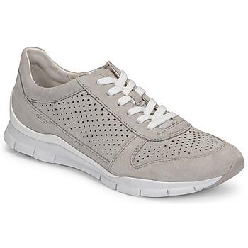 Chaussures Femme Baskets basses Geox D SUKIE B Gris