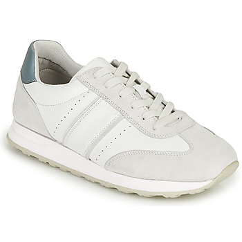 Chaussures Homme Baskets basses Geox U FIDENZA B Blanc / Bleu