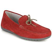 Chaussures Homme Mocassins Geox U TIVOLI A Rouge