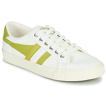 Chaussures Femme Baskets basses Gola TENNIS MARK COX Blanc / Jaune