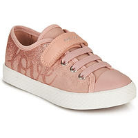Chaussures Fille Baskets basses Geox JR CIAK GIRL G Rose