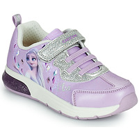 Chaussures Fille Baskets basses Geox SPACECLUB GIRL Violet
