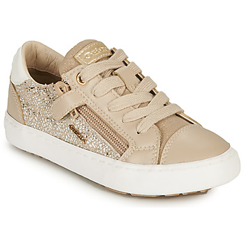 Chaussures Fille Baskets basses Geox J KILWI GIRL B Beige