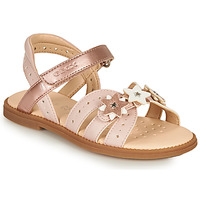 Chaussures Fille Sandales et Nu-pieds Geox J SANDAL KARLY GIRL Rose