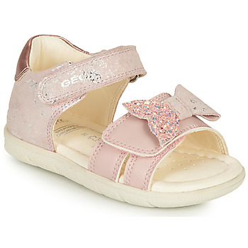 Chaussures Fille Sandales et Nu-pieds Geox B SANDAL ALUL GIRL D Rose