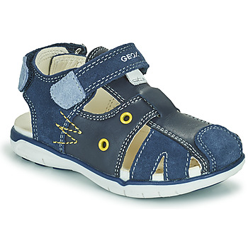 Chaussures Garçon Sandales et Nu-pieds Geox SANDAL DELHI BOY Marine