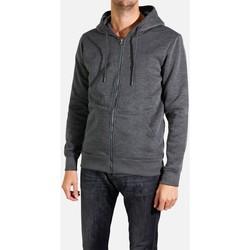 Vêtements Homme Sweats Kebello Sweat à capuche zippé Taille : H Anthra M Anthra