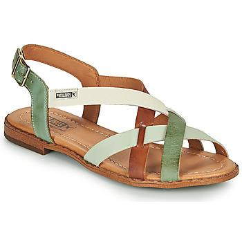 Chaussures Femme Sandales et Nu-pieds Pikolinos ALGAR W0X Marron / Vert