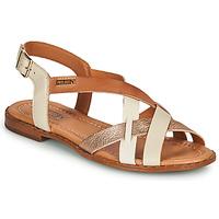 Chaussures Femme Sandales et Nu-pieds Pikolinos ALGAR W0X Blanc / Rose / Doré