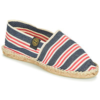 Chaussures Espadrilles Art of Soule RAYURE Bleu / Rouge