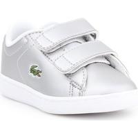 Chaussures Enfant Baskets basses Lacoste Carnaby EVO 317 6 SPI 7-34SPI0006334 srebrny