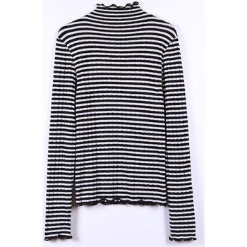 Vêtements Fille Pulls Little Cerise T-shirt lisegi rayé BLACK