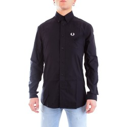 Vêtements Homme Chemises manches longues Fred Perry M8501 MARINE