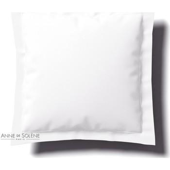 Maison & Déco Taies d'oreillers, traversins Anne De Solène Taies d'oreiller - Percale coton Blanc vexin