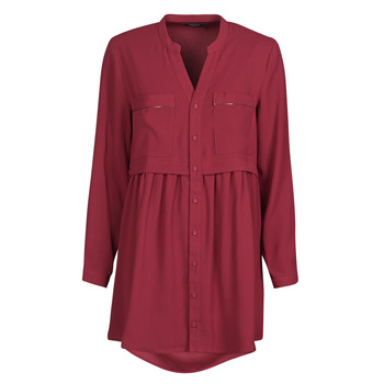 Vêtements Femme Robes courtes Deeluxe PRICIA Rouge