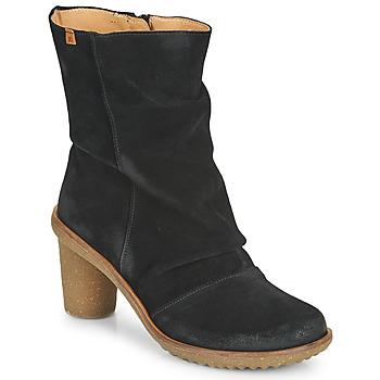 Chaussures Femme Bottines El Naturalista LUX Noir