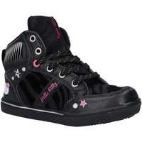 Chaussures Fille Baskets montantes Hello Kitty 444231-21 HK CATOF LEO Negro