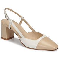 Chaussures Femme Escarpins Jonak DHAPOP Beige / Blanc