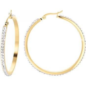 Montres & Bijoux Femme Boucles d'oreilles Sc Crystal B2103-DORE Doré