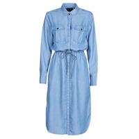 Vêtements Femme Robes longues G-Star Raw Rovic maxi shirt dress ls lt aged