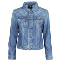 Vêtements Femme Vestes en jean G-Star Raw 3301 Straight Dnm Jkt Wmn Faded shore