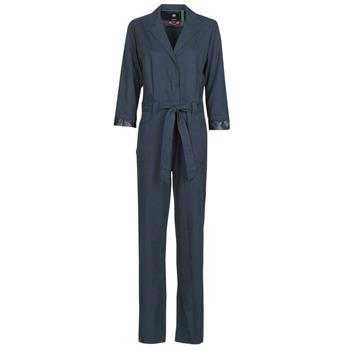 Vêtements Femme Combinaisons / Salopettes G-Star Raw Workwear pj jumpsuit 34 slv wmn Mazarine blue