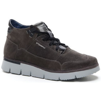 Chaussures Homme Baskets montantes Stonefly BOOT  - ELITTE MAN 7 GRIS Gris