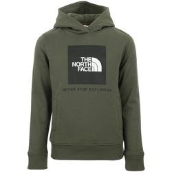 Vêtements Enfant Sweats The North Face New Box Hoodie Kids vert