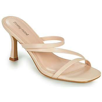 Chaussures Femme Mules Moony Mood OBIUTI Nude