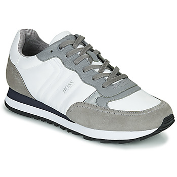 Chaussures Homme Baskets basses BOSS PARKOUR RUNN MX Blanc / Gris