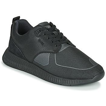 Chaussures Homme Baskets basses BOSS TITANIUM RUNN TBJQ Noir