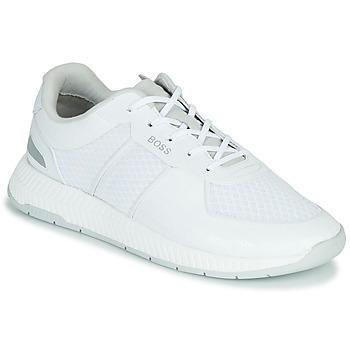 Chaussures Homme Baskets basses BOSS TITANIUM RUNN MEMLLG Blanc