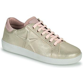 Chaussures Fille Baskets basses Bisgaard TILDE Doré