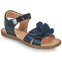 Chaussures Fille Sandales et Nu-pieds Bisgaard AGNES Marine