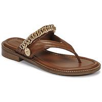 Chaussures Femme Sandales et Nu-pieds Bronx NEW THRILL Marron / Doré