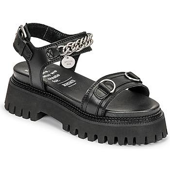 Chaussures Femme Sandales et Nu-pieds Bronx GROOVY SANDAL Noir