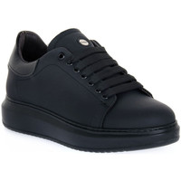 Chaussures Homme Baskets basses Exton GOMMA NERO Nero