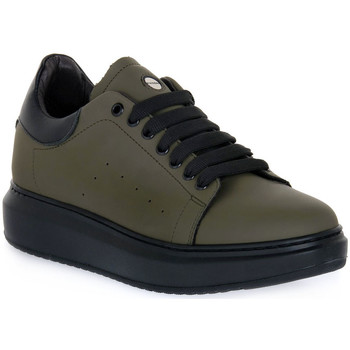 Chaussures Homme Baskets basses Exton GOMMA MILITARE Verde