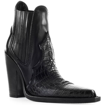 Chaussures Femme Bottines Dsquared Western Black