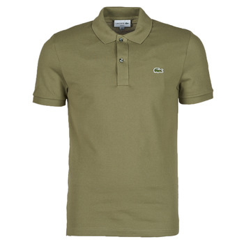 Vêtements Homme Polos manches courtes Lacoste POLO SLIM FIT PH4012 Kaki