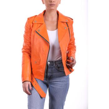 Vêtements Femme Blousons Ladc Joyce Orange Orange