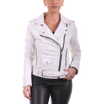 Vêtements Femme Blousons Ladc Diane Peace Blanc Blanc