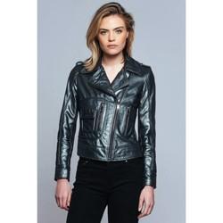 Vêtements Femme Blousons Ladc Georgia Metalic Vert Métalic
