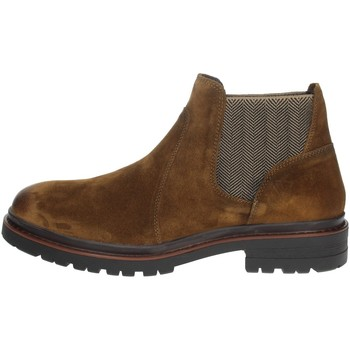 Chaussures Homme Boots Valleverde 49840 Marron Taupe