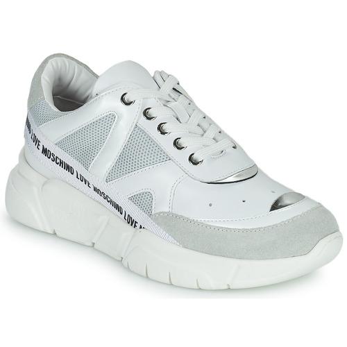 Chaussures Femme Baskets basses Love Moschino JA15323G1C Blanc