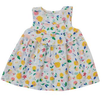 Vêtements Fille Robes courtes Petit Bateau MELIANA Multicolore